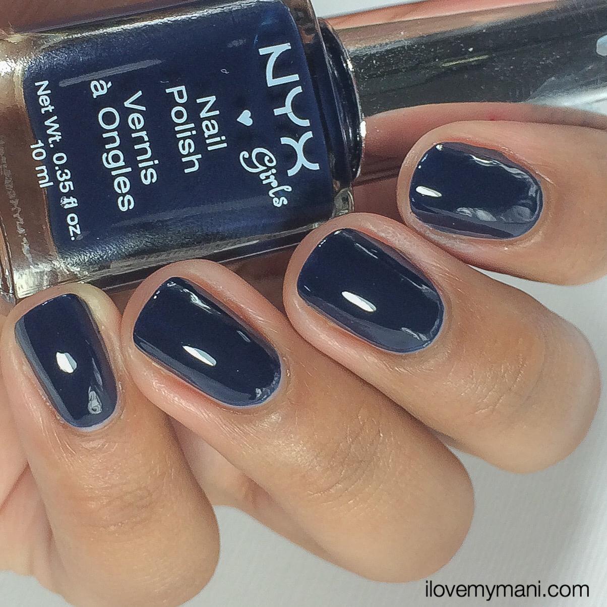 NYX Girl Nail Polishes (I\'m so mad) | i love my mani