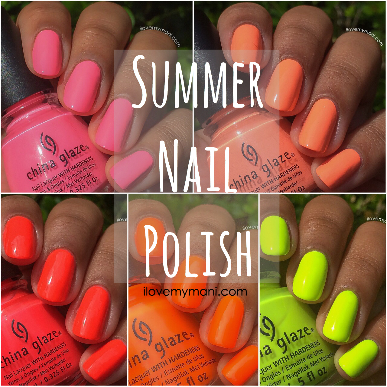 Fun Summer Nail Polish | i love my mani